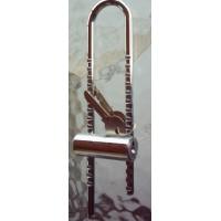 Κλειδαριά πέταλο δια ποδήλατα ωφέλιμο μήκος 15 πόντοι πλάτος 3 πόντοι .