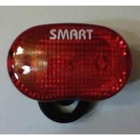 Φανός οπισθ. Μπαταρίας Smart με 3 Led τρεις λειτουργίες