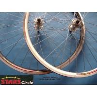 Τροχοί ποδηλάτου  AIR–LINE ΔΙΑ ΜΤΒ ΣΠΟΡ-CITY No24x175-190-26-175-190 – 281-4-700-28με άξονα μπλοκαζ